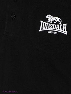 Поло Lonsdale                                                                                                              черный цвет