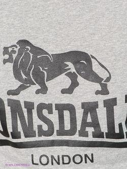 Футболки Lonsdale                                                                                                              серый цвет