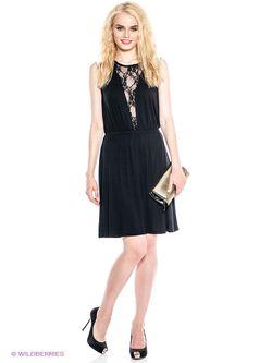Платья Selected                                                                                                              черный цвет