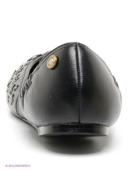 Балетки Diesel                                                                                                              черный цвет