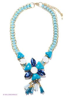 Ожерелья Infiniti                                                                                                              синий цвет