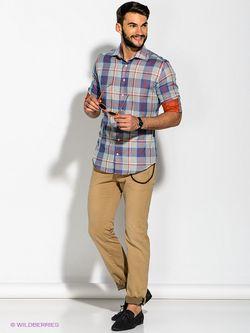 Рубашки Troy Collezione                                                                                                              синий цвет