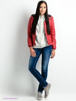 Пуховики Pepe Jeans London                                                                                                              красный цвет