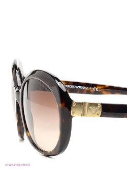 Солнцезащитные Очки Emporio Armani                                                                                                              коричневый цвет