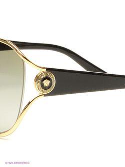 Солнцезащитные Очки Versace                                                                                                              черный цвет