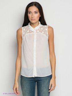 Блузки Vero Moda                                                                                                              белый цвет