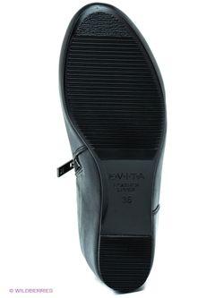Ботильоны Evita                                                                                                              черный цвет