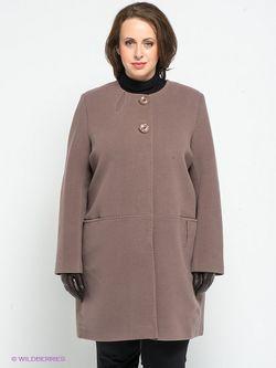 Пальто Klimini                                                                                                              коричневый цвет