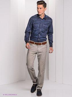 Рубашки Bogner Jeans                                                                                                              синий цвет