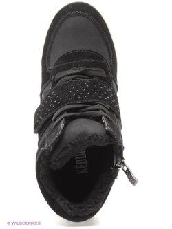 Сникеры Keddo                                                                                                              чёрный цвет