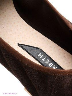 Туфли J&Elisabeth                                                                                                              коричневый цвет