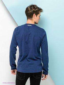 Лонгслив Pepe Jeans London                                                                                                              синий цвет