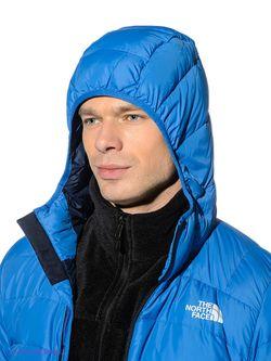 Пуховики The North Face                                                                                                              синий цвет