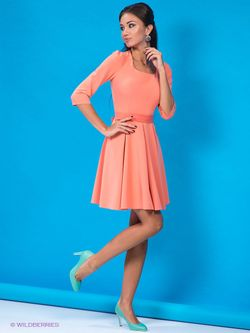 Платья Colambetta                                                                                                              оранжевый цвет