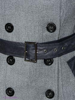Пальто TOPSANDTOPS                                                                                                              черный цвет