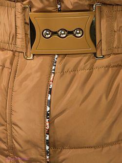 Пуховики X'cluSIve                                                                                                              коричневый цвет