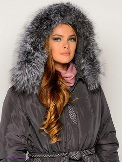 Пальто X'cluSIve                                                                                                              серый цвет