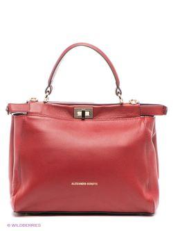 Сумки Alessandro Birutti                                                                                                              красный цвет
