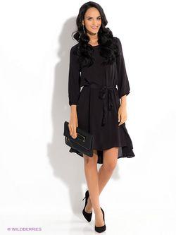 Платья ICHI                                                                                                              чёрный цвет