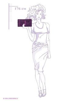 Клатчи Анна Чапман                                                                                                              фиолетовый цвет