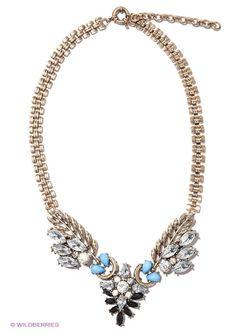 Колье Milana Style                                                                                                              голубой цвет