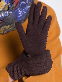 Перчатки Modo                                                                                                              коричневый цвет