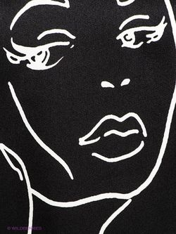 Лонгслив Fiorella Rubino                                                                                                              чёрный цвет