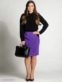 Юбки Incity                                                                                                              фиолетовый цвет