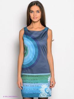 Платья Desigual                                                                                                              голубой цвет