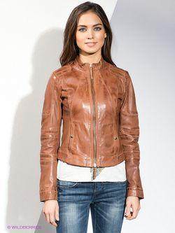 Куртки HUGO BOSS                                                                                                              коричневый цвет