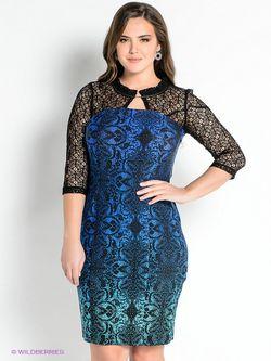 Платья Klimini                                                                                                              синий цвет