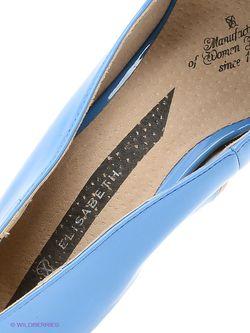 Туфли J&Elisabeth                                                                                                              синий цвет