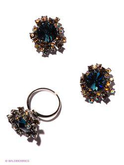Комплекты Бижутерии Selena                                                                                                              синий цвет