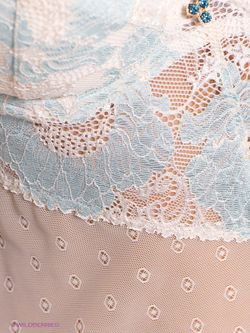 Неглиже Milavitsa                                                                                                              голубой цвет