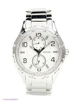 Часы Guess                                                                                                              серебристый цвет