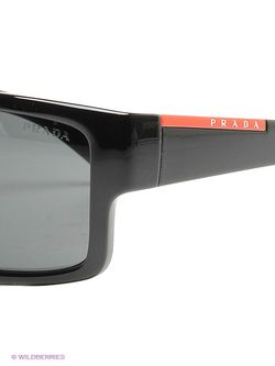 Солнцезащитные Очки Prada Linea Rossa                                                                                                              чёрный цвет