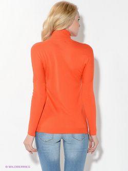 Водолазки Oodji                                                                                                              оранжевый цвет