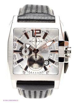 Часы Festina                                                                                                              черный цвет
