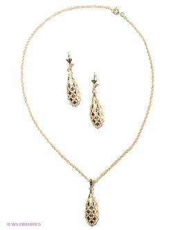 Комплекты Бижутерии Happy Garnets                                                                                                              Золотистый цвет