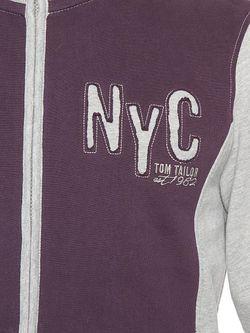Толстовки TOM TAILOR                                                                                                              фиолетовый цвет
