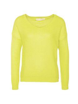 Джемперы TOM TAILOR                                                                                                              желтый цвет