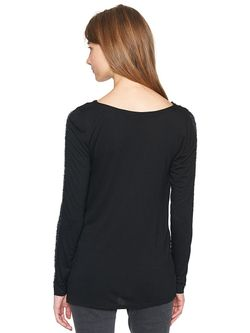 Блузки TOM TAILOR                                                                                                              черный цвет