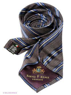 Галстуки Sarto Reale                                                                                                              синий цвет