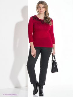 Джемперы Milana Style                                                                                                              Бордовый цвет