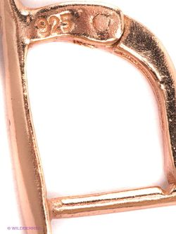 Ювелирные Серьги Art Silver                                                                                                              Золотистый цвет