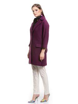Пальто Tsurpal                                                                                                              фиолетовый цвет