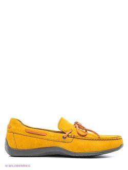 Мокасины Geox                                                                                                              желтый цвет
