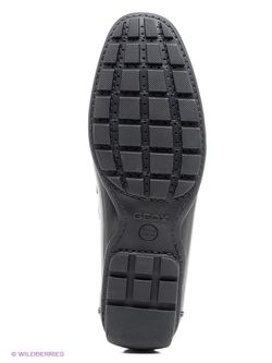 Мокасины Geox                                                                                                              чёрный цвет