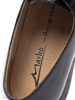 Туфли Marko                                                                                                              чёрный цвет