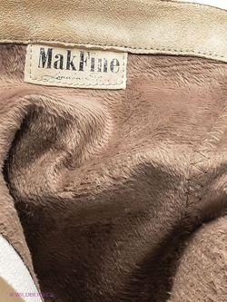 Полусапожки Makfine                                                                                                              Молочный цвет